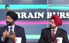 Panelists talk about Stress Factor in Brain Burst with Dr. Ranvir Sharda @TAG TV