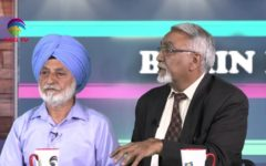 Sucha Singh Gill with Panelists @Brian Burst with Dr. Sharda @TAG TV