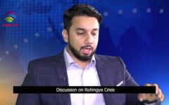 Talk on Rohingya Crises in SQUARE ONE with Aryan Hussain @TAG TV