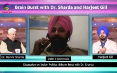 Brain Burst with Dr Sharda & Harjeet Gill – Who's most Popular Leader in India