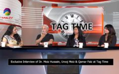 Exclusive Interview of Dr. Moiz Hussain, Urooj Moiz & Qamar Faiz @Tag Time