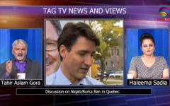 TAG TV News & Views on Niqab / Burka Ban in QUEBEC