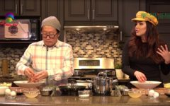 Veronica Wang in Chef Sang's Cooking Show 'Dishing it' @TAG TV @Greeniche