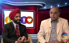 Nahar Aujla and Kulwinder Khehra talk about peace in both Punjab @TAGTV