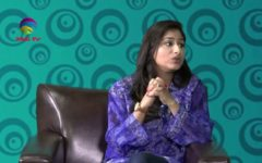 Zinnia J. Qureshi Reflects in SQUARE ONE with Aryan Hussain @ TAG TV